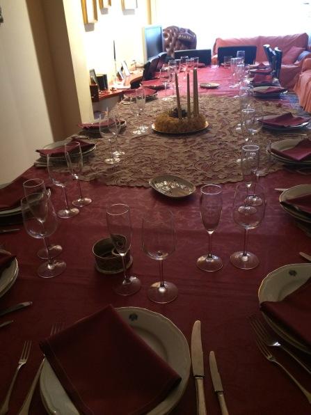 La taula!