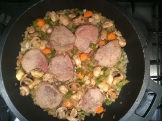carn - rodo vedella amb verdures