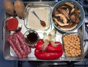 Arros-llauna-ceps-salsitxa-patata (2)